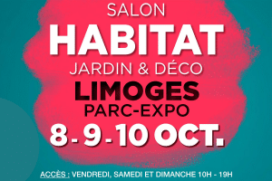 Retrouvez-nous au Salon de l'Habitat, Déco Limoges