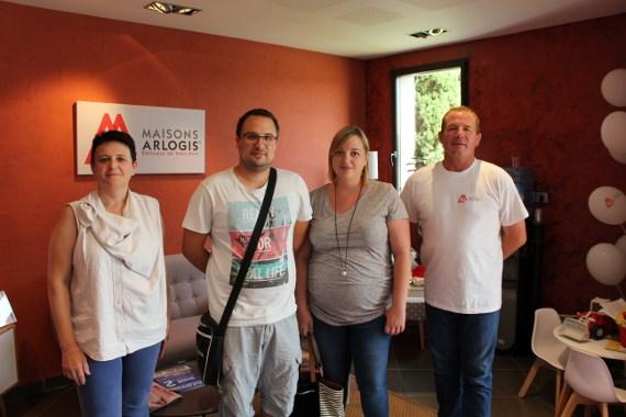 Une nouvelle famille à St Genis Sur Menthon (01)