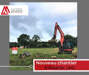 Nouveau Chantier à Assérac (44) en cette rentrée !