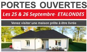 Portes Ouvertes les 25 & 26 Septembre à ETALONDES