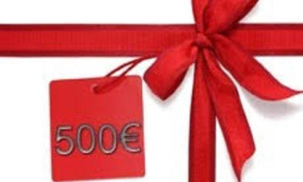 Parrainez une personne de votre entourage et recevez un chèque de 500€