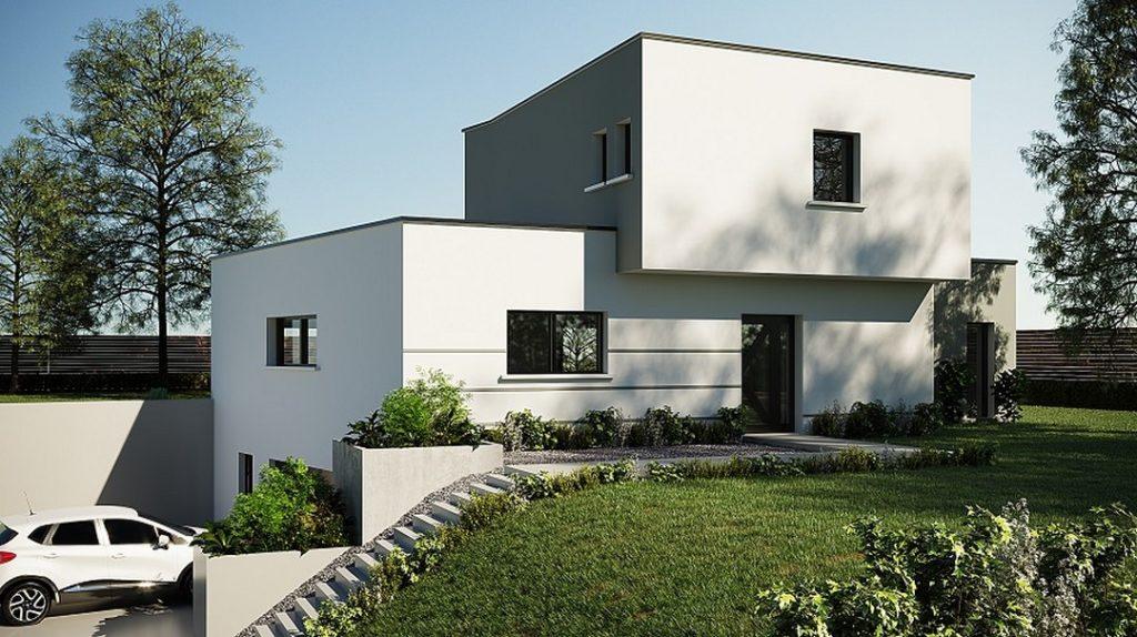 Maison Moderne Mours-Saint-Eusèbe