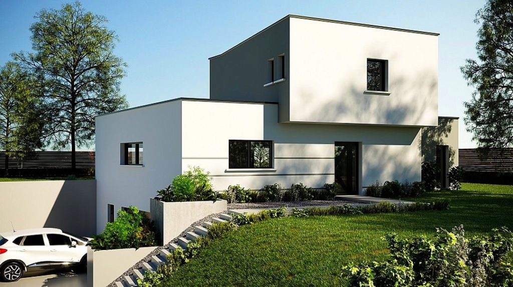 Maison moderne Mirmande