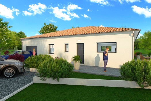 Terrain constructible + maison 95 m² Allex 26400