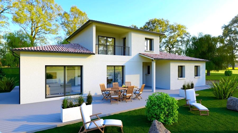 Maison moderne Beaumont-les-Valence