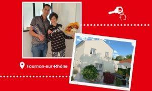 Remise des clés à Tournon-sur-Rhône (07300)