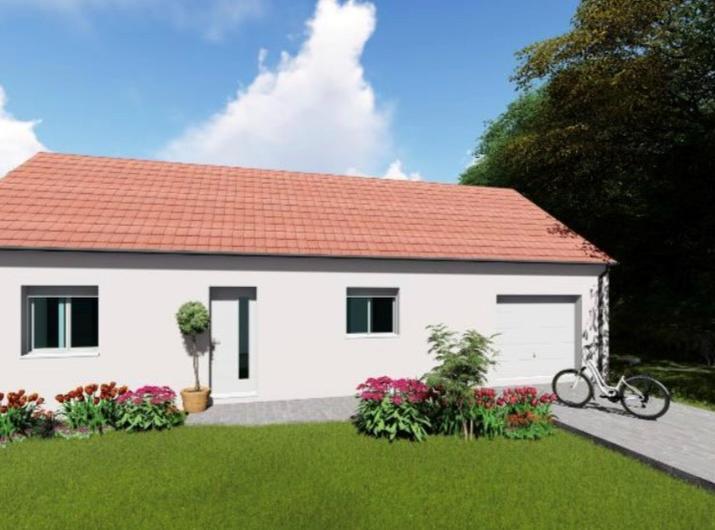 Accord de permis pour une maison de 105 m² à Leuvrigny (51320)