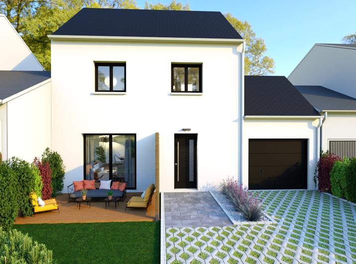 Une Maison à étage de 86 m² à Saint-Mars-du-Désert