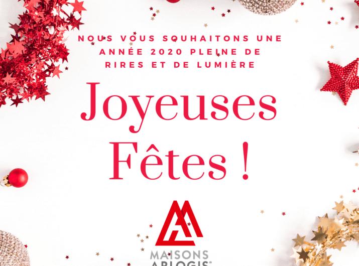 Nous vous souhaitons de très belles fêtes de fin d'année !!