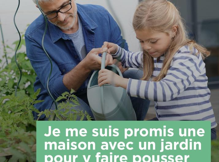 Envie d'une Maison avec jardin ?