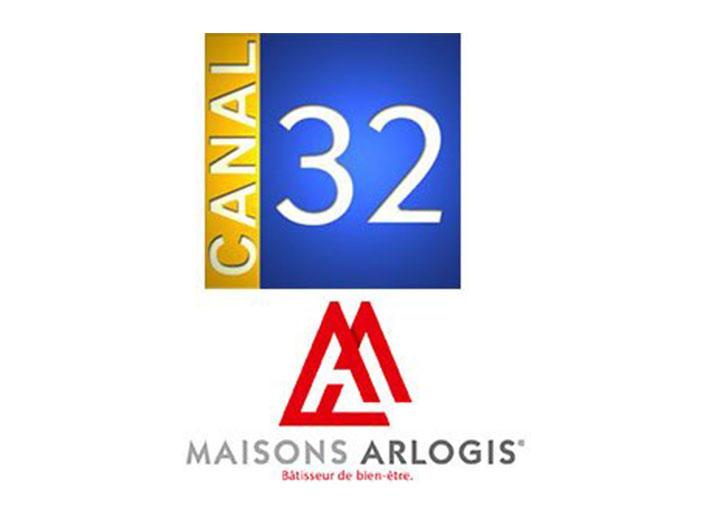 Maisons Arlogis sur Canal 32