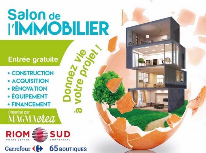 [ÉVÉNEMENT ANNULÉ CETTE ANNÉE] Juin 2020 : Salon de l'Immobilier Carrefour RIOM