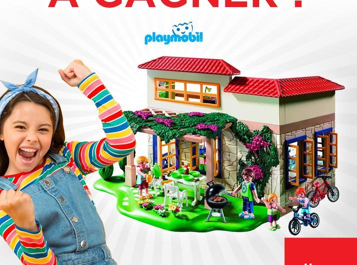 Participez à notre Jeu Concours Facebook et gagnez une Maison Playmobil !!