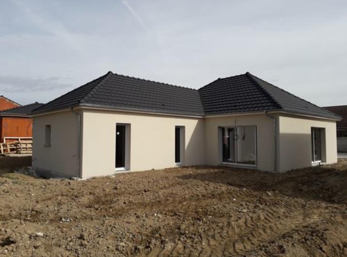 Livraison OIRY maison de 117m²
