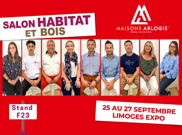 Retrouvez notre équipe au Salon de l'Habitat & du Bois de septembre 2020