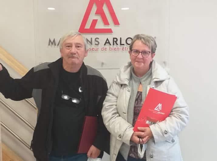 Remise de Clefs pour Mr et Mme W. à Les Mesneux