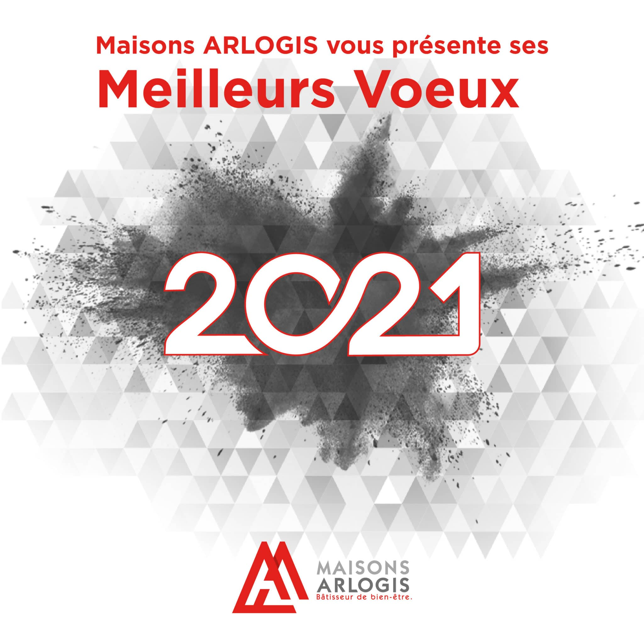 facebook post - voeux 2021