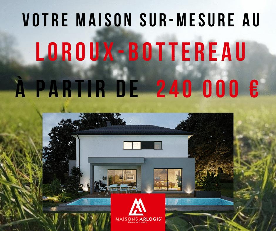 Construisez votre maison neuve au Loroux-Bottereau !