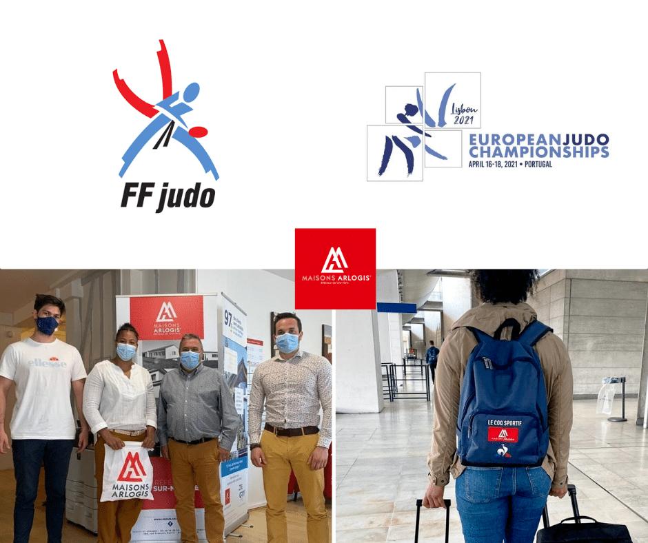 Maisons ARLOGIS soutient une judokate française au Championnat d'Europe 2021