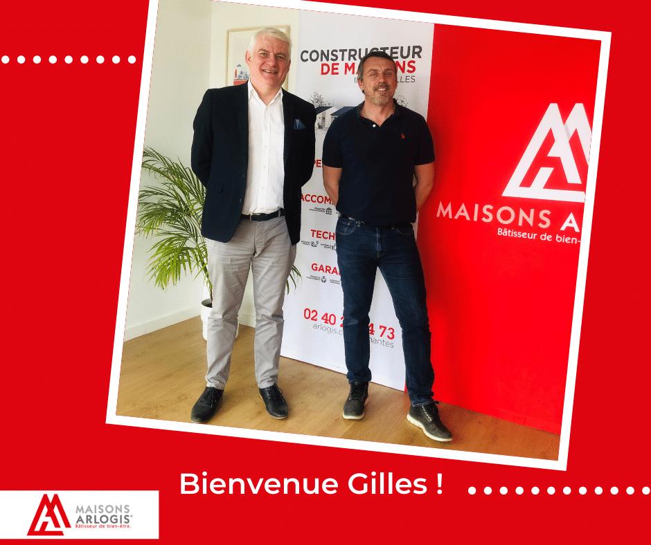 Bienvenue à Gilles !