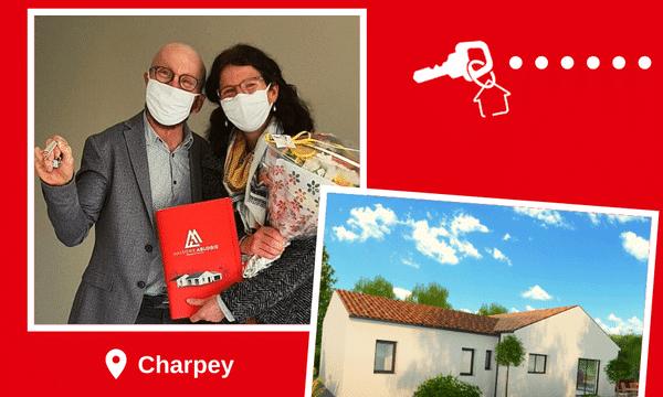 Remise des clés à Charpey (26300)