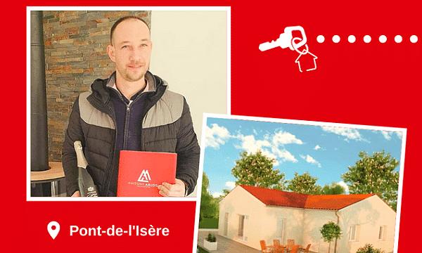 Remise des clés à Pont-de-l'Isère (26600)