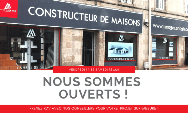 Nous sommes ouverts les 14 et 15 mai prochains ! 📆