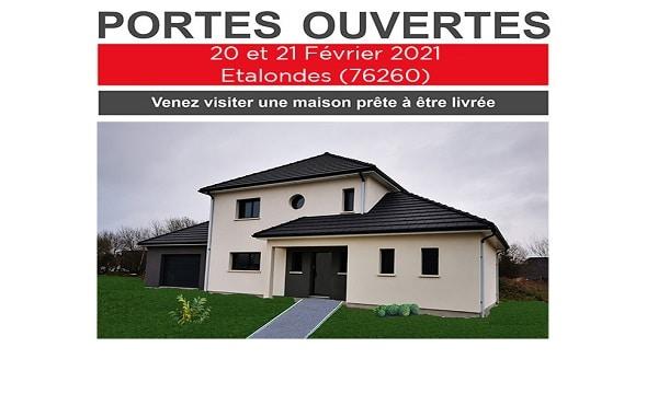 Portes-Ouvertes les 20 & 21 Février à ETALONDES