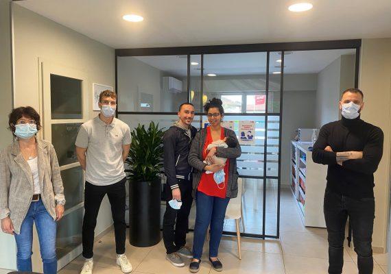 Un grand bravo à Maylis & Hugo pour leur nouvelle maison à Montmerle