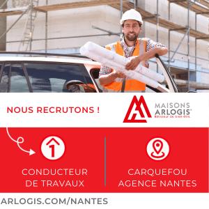 Recrutement de notre conducteur de Travaux à l'agence de Nantes !