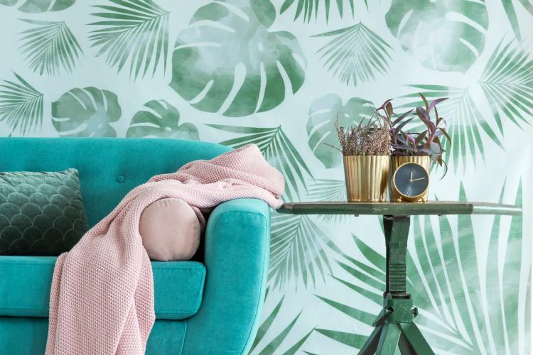 Un salon naturel pour une décoration de maison tendance 2021