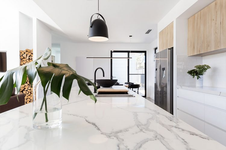 Tendances cuisine 2021, le marbre